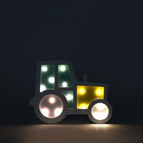 FIGURA LED MADERA TRACTOR + COHETE HF - Ítem5