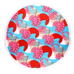 EXOTIC ROUND TOWELS HF - Item1