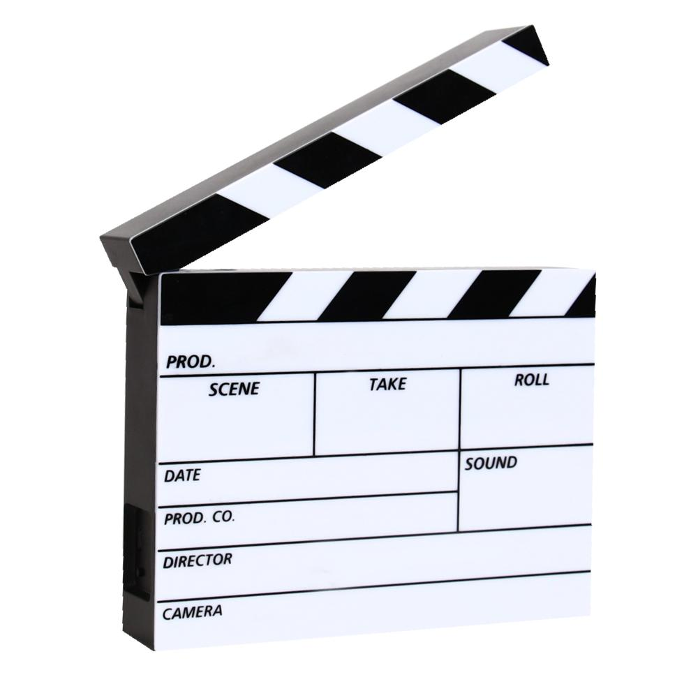 CLAPPERBOARD LIGHTBOX LCM