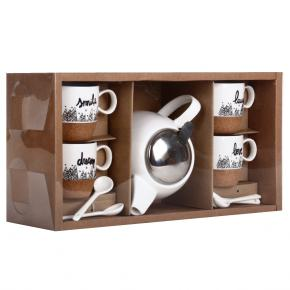 BASE CORK TEA SET HF