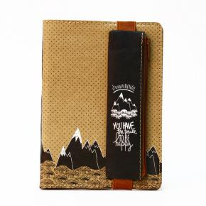 KRAFT SET NOTEBOOK + PENCIL CASE HF