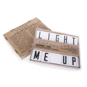 SCRABBLE LIGHT GARLAND HF