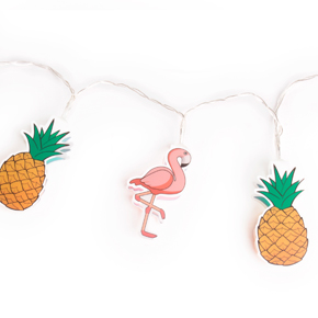 FLAMINGO/PINEAPPLE GARLAND HF