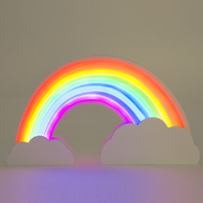 NEON EFFECT RAINBOW LIGHT HF