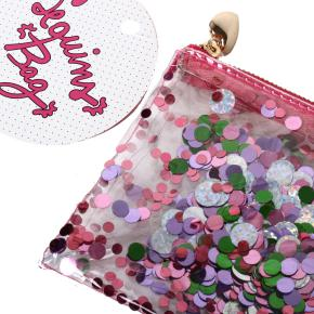 SEQUIN PENCIL CASE GLOSS HF