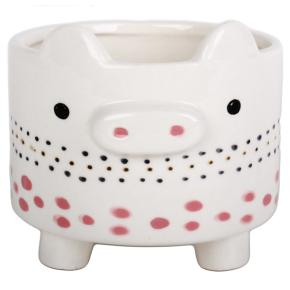 ANIMAL QUIET FLOWER POT HF - Item5
