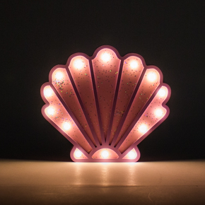 WOODEN LED FIGURES MERMAID+SHELL HF - Item2