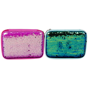 SEQUIN PENCILCASE MERMAID/PINK HF