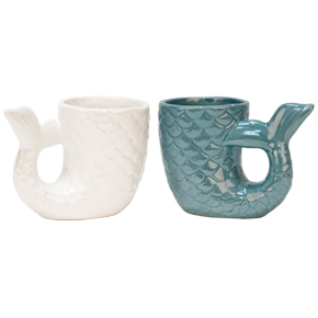 COFFEE MUG MERMAID TAIL HF - Item