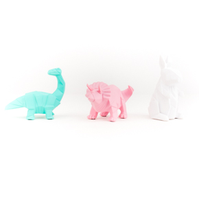 SMALL LED LIGHT GEOMETRIC (2dinos+rabbit) HF