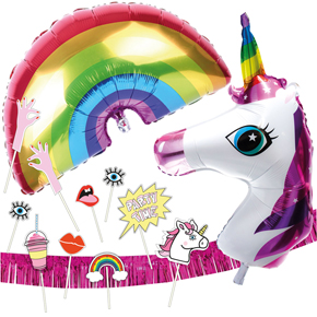 PARTY SET UNICORN WORLD HF