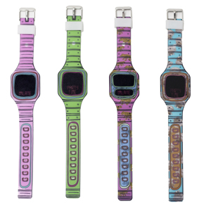 RELOJ DE PULSERA LED CARTOON HF