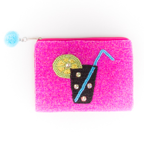 BEADED CLUTCH INDIAN HF - Item7