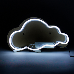 WALL NEON CLOUD LCM