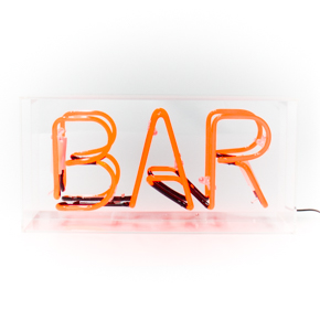 ACRYLIC NEON BOX BAR LCM - Item1