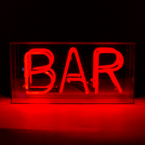 ACRYLIC NEON BOX BAR LCM - Item