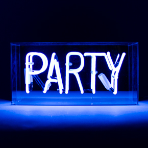 ACRYLIC NEON BOX PARTY LCM - Item