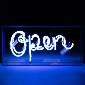 NEON ACRYLIC BOX OPEN LCM