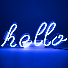 WALL NEON HELLO LCM