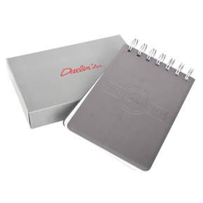 LIBRETA LIMITED TAPA DE METAL HF MEN