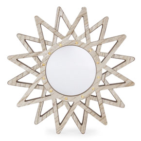 WOOD SUN MIRROR LIGHT HF