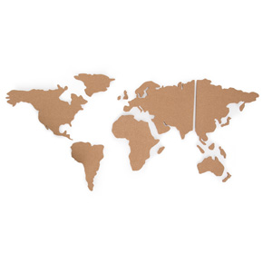 MAPA DE CORCHO CON PINS HF - Ítem2