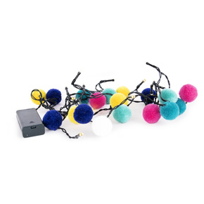 POM POM STRING LED LIGHT HF