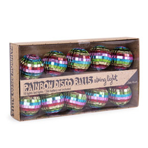 DISCO BALLS STRING LED LIGHT HF - Item1