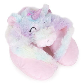 UNICORN WITH HOOD MULTICOLOR CUSHION HF