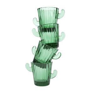 SET 4 SHOT GLASSES CACTUS HF - Item1