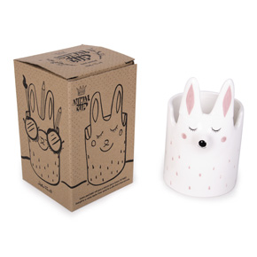 RABBIT CUP HAND PAINTED HF
