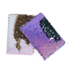 SEQUINS NOTEBOOK A5 HF