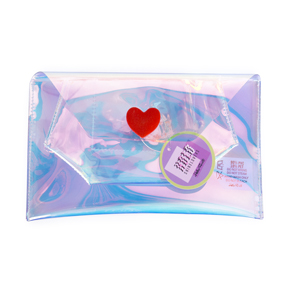 BIG HEART HOLO POUCH HF