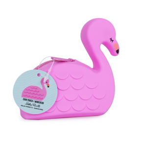 SILICONE PURSE BABY FLAMINGO HF