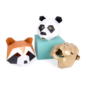 MASK SET LION PANDA RACCOON HF