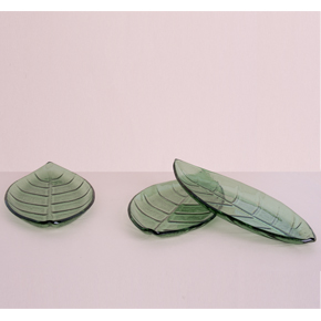 3 LEAF APPETIZER DISH SET HF - Item1