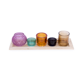RECTANGULAR CANDLE HOLDER TRAY HF