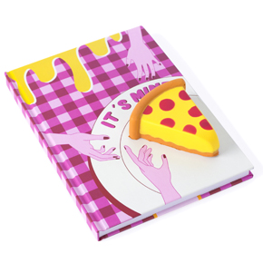 SQUISHY PIZZA SLICE A5 NOTEBOOK HF