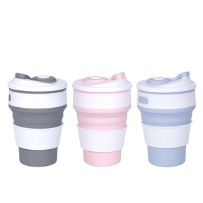 FOLDABLE SILICONE COFFEE CUP HF
