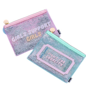 CLUTCH PURPURINA STRONGER + GIRL s6 HF