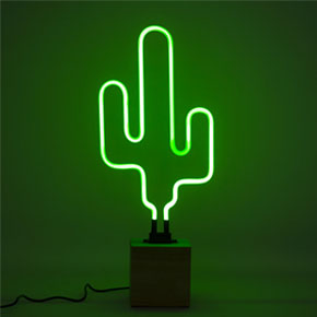 CACTUS NEON WOOD BASE LCM