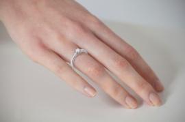 anillo solitario