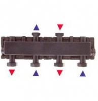 Colector circuitos calefacción