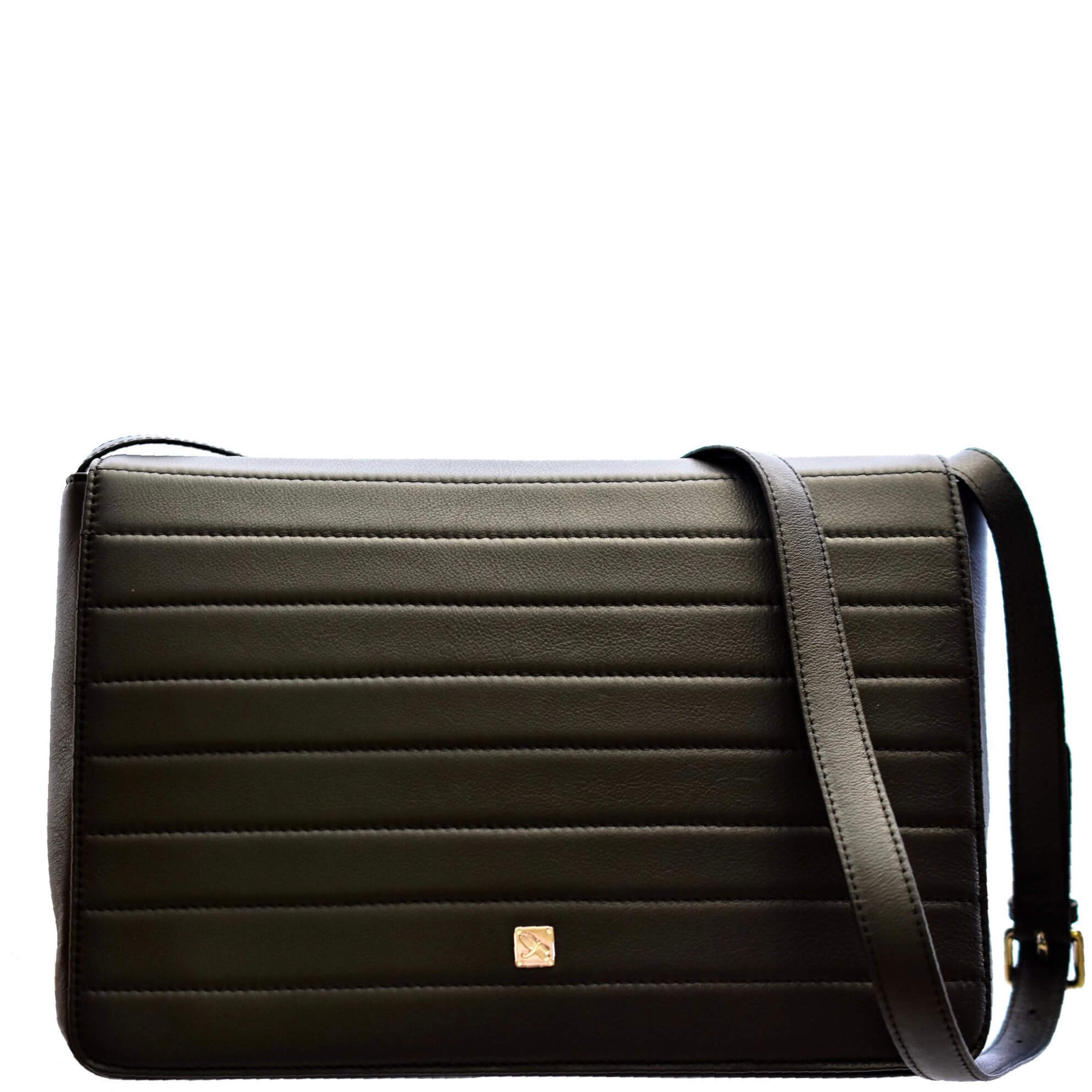 Black Postman Crossbody. Leather Bags | TARA´S