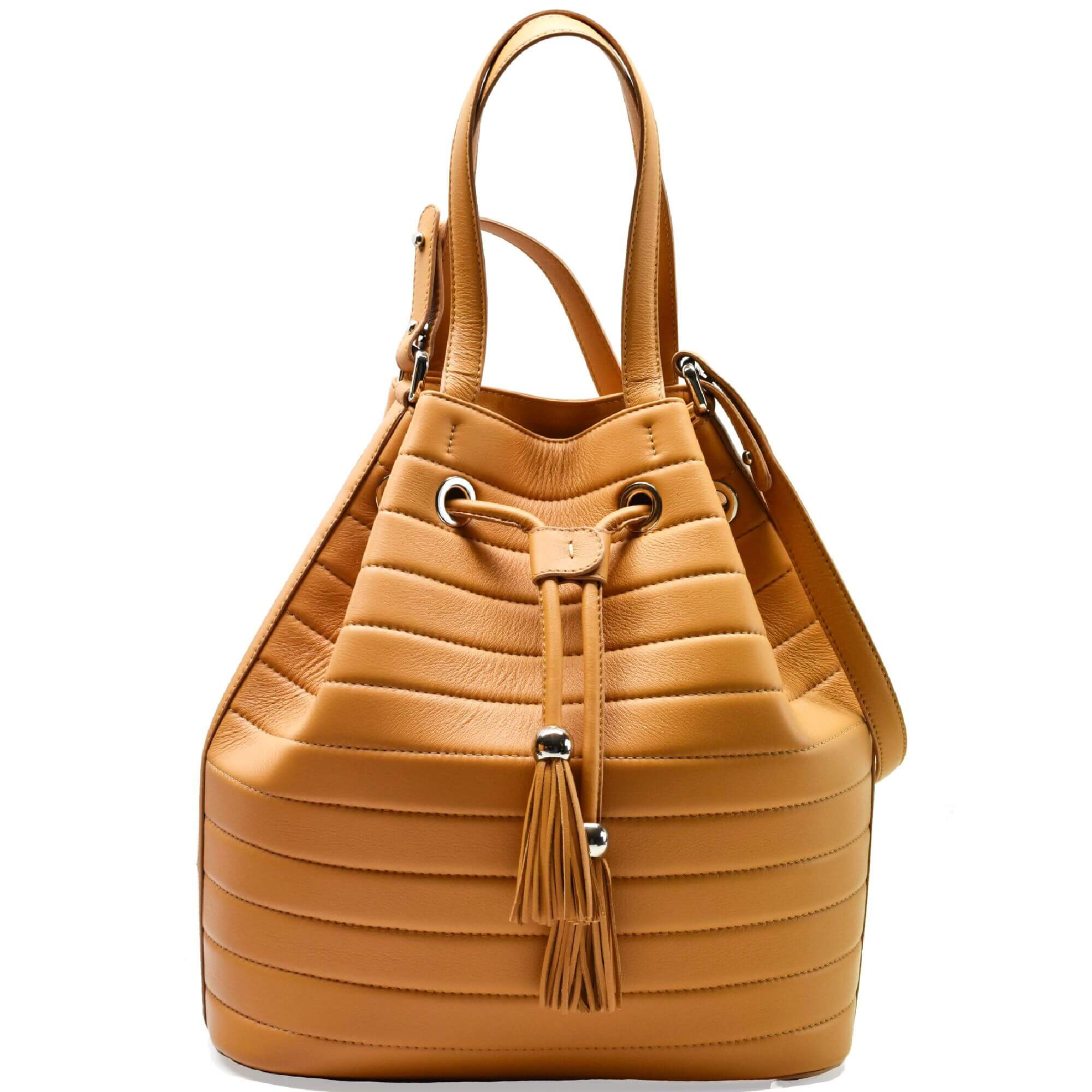 Camel Leather Sac. Ibiza
