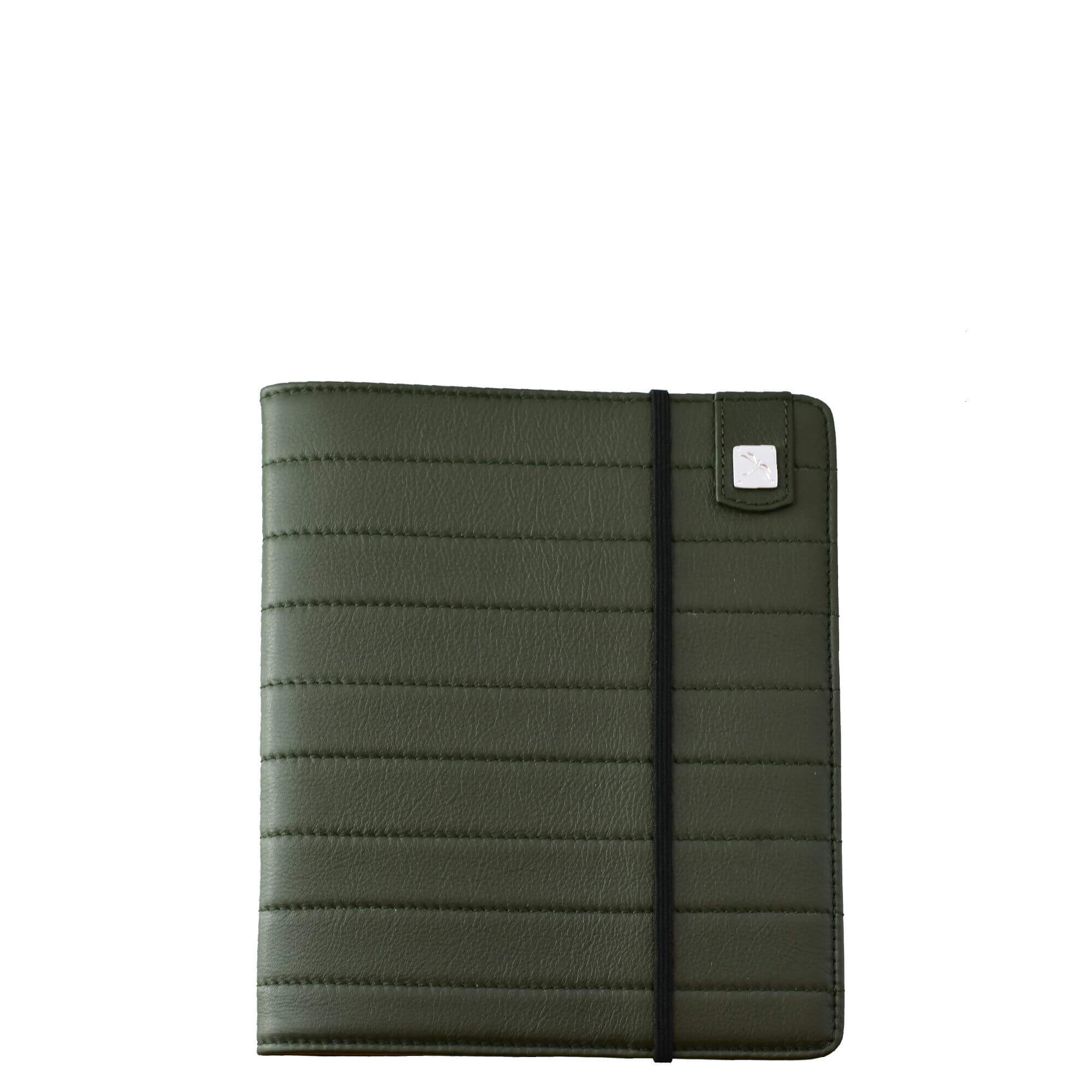 Green Leather Cover. Notebook