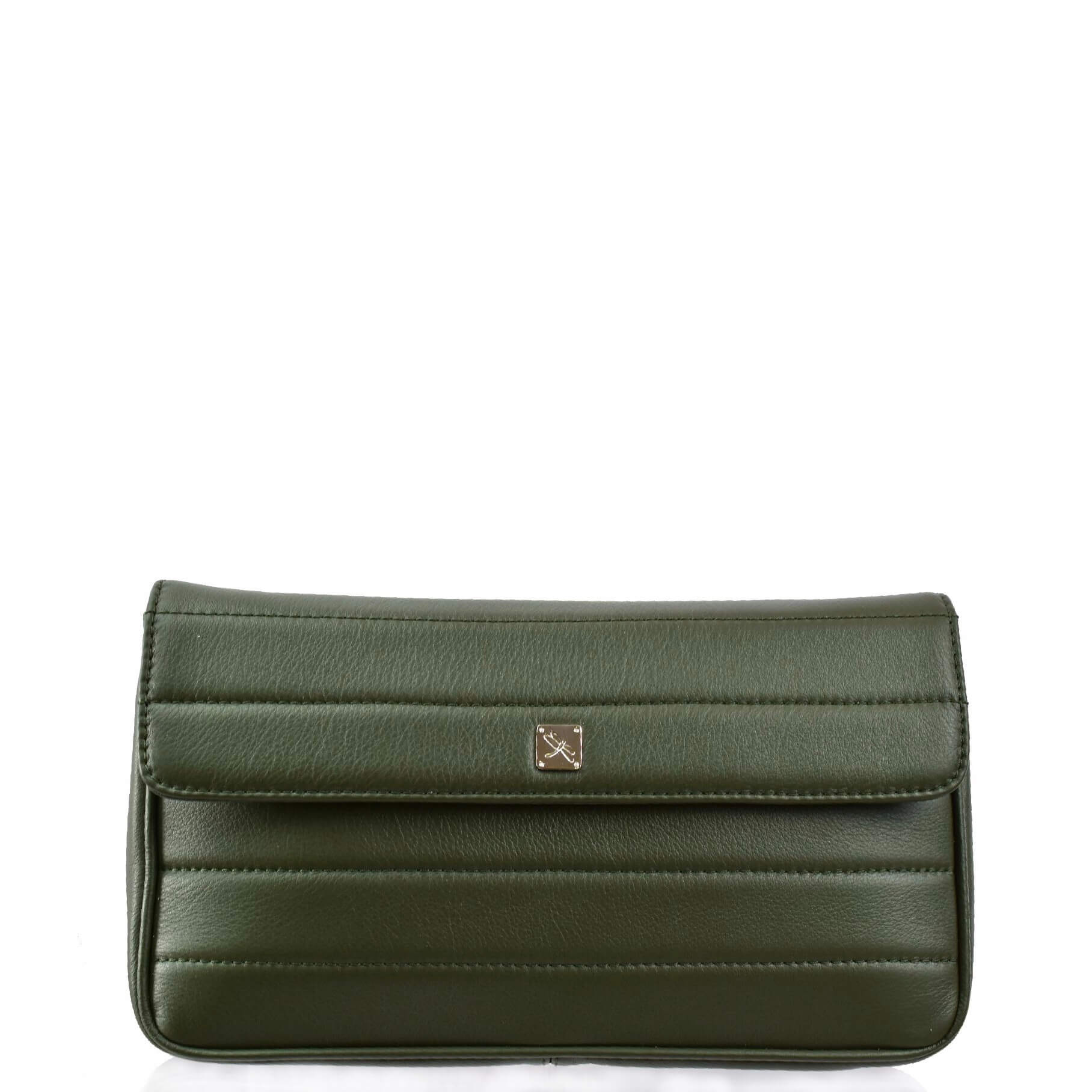 Green Crossbody with Chain. Viena L