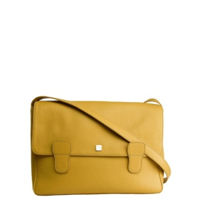 Alexandra Yellow Messenger Bag