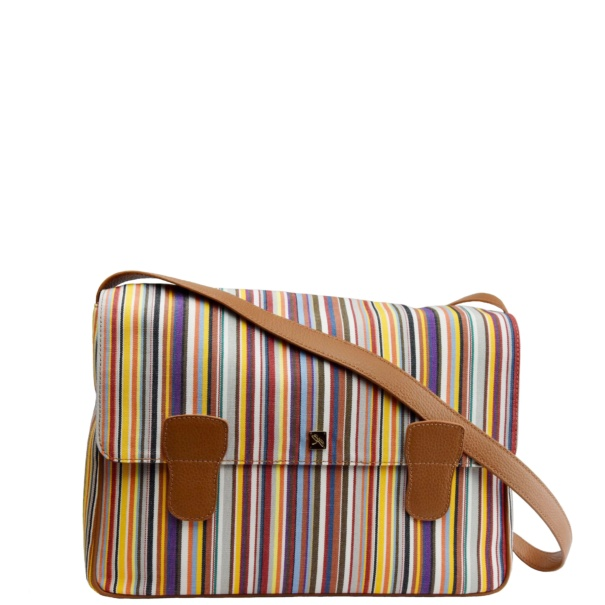 Alexandra Canvas Messenger Bag