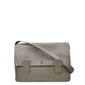 Alexandra Taupe Messenger Bag